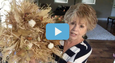 How to make a raffia wreath with Debbie | Memories of Home