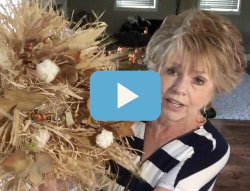 How to Make a Raffia Wreath