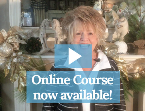 Our New Online Holiday Mantel Course is Now Available!